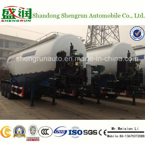 China Best Selling 3 Axles Bulk Cement Tanker Semi Trailer