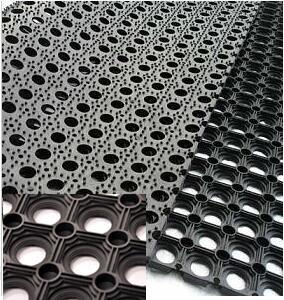 Best Quality Interlocking Rubber Matting/Mat pictures & photos