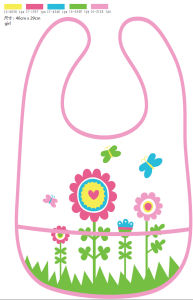 Printed Baby Bib in PEVA (HR02SP004) pictures & photos