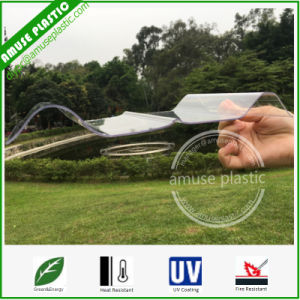 100% Virgin Lexan Plastic Building Material Solid Corrugated PC Roof Sheet pictures & photos