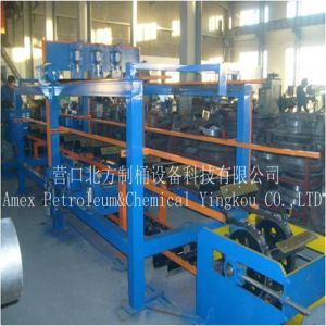 Steel Barrel Silk Screen Printer of Oil Drum Production Line pictures & photos