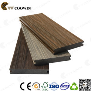 China Interlock Embossed Co-Extrusion WPC Decking pictures & photos