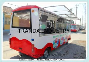 Convenient Mobile Electric Steel Catering Truck pictures & photos