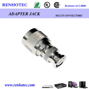N Plug to BNC Plug Adapter pictures & photos