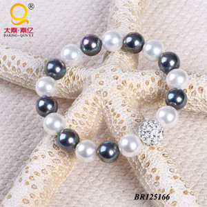 2014 Trendy Shell Bead Diamond Ball Bracelet (BR125166) pictures & photos