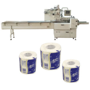 Servo Paper Toilet Roll Wrapping Machine pictures & photos