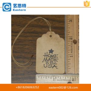 Garment Printed Hang Tag on Cloth pictures & photos