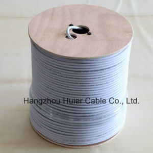 High Quality Waterproof Material RG6 Coaxial Cable pictures & photos