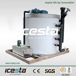 Icesta Flake Ice Evaporator (15T/24hr) pictures & photos