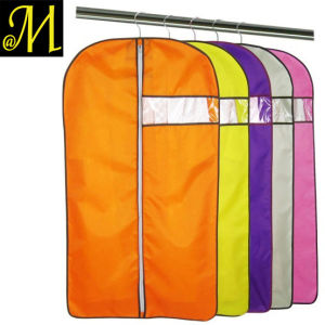 Nylon Clear PVC Nonwoven Polyester Suit Garment Bag Cover pictures & photos
