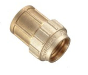 Flow Aperture Threaded Brass Female Coupling Copper TF-07 pictures & photos