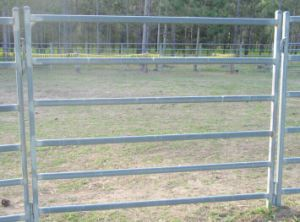Metal Livestock Field Farm Fence Gate for Cattle Sheep or Horse pictures & photos