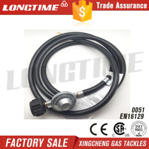 Low Pressure CSA Certified LPG Gas Regulator & Hose Connection Kit