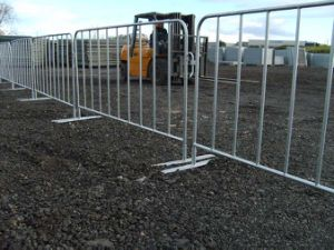 Galvanized & Powder Coated Pedestrian Control Barrier pictures & photos