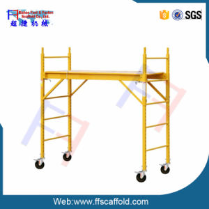 Movable Multifuntional Scaffolding Platform/Aluminum Scaffolding Platforms pictures & photos