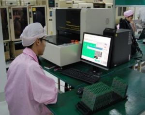 Online 3D Solder Paste Inspection Spi Machine for PCB Inspection on PCBA pictures & photos