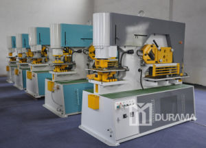 Hydraulic Ironworker / Universal Punching & Cutting Machine/ Punching Machine / Shearing Machine / Cutting Machine pictures & photos