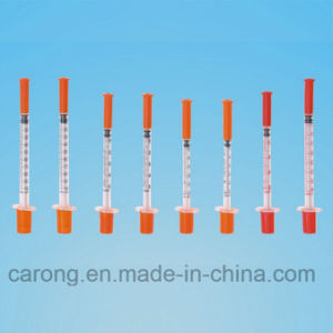 High Quality Safety Insulin Syringe for Single Use pictures & photos