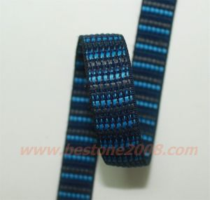 High Quality Polyester Jacquard Webbing#1412-30 pictures & photos
