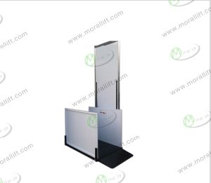 Safe and Cheap Hydraulic Disabled Wheelchair Lift pictures & photos