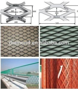 2.5cm Thick Expanded Metal Mesh / Expanded Mesh for Fencing (Manufacturer) pictures & photos