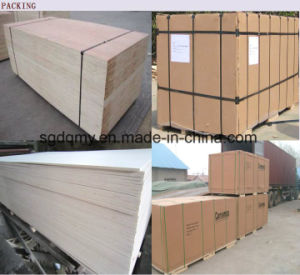 Best Commercial Commercial Melamine Faced Plywood with 18mm 16mm pictures & photos