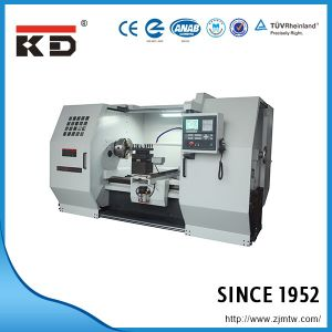 China High Precision Flat Bed CNC Lathe Machine Ck-62110b pictures & photos