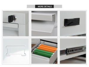 Black Metal 4 Drawer File Storage Cabinet pictures & photos