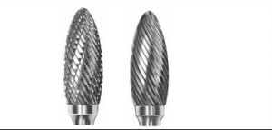 Carbide Burrs Type H Flame H0618 pictures & photos