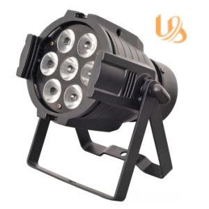 7*10W RGBW Aluminum PAR Light LED DJ Lights pictures & photos
