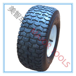 High Quality Durable Pneumatic 15X6.00-6 Rubber Wheel pictures & photos