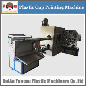 Plastic Cup Printing Machine, Surface Offset Press Cup Printing Machine, Offset Plastic Cup Printer (YXYB6) pictures & photos