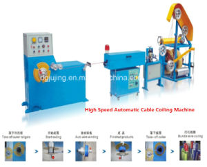 Manufacturing Equipment High Speed Automatic Coiling Machine pictures & photos