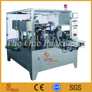Stand-up & Zipper Pouch Rotary Packer Packing Machine