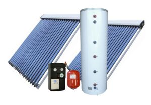 150L Split Pressurized Heat Pipe Solar Energy Water Heater System pictures & photos