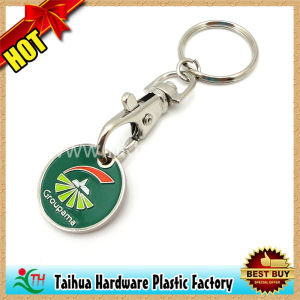 Promotion Metal Coin Holder Keychain Gift (TH-mkc037) pictures & photos