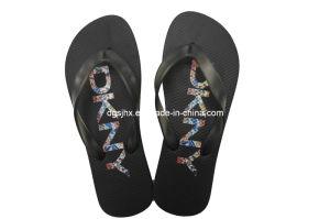 Black Rubber Flip Flops for Men and Women pictures & photos