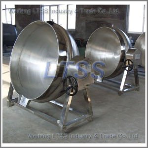 Steam Heating Candy Cooking Pot pictures & photos
