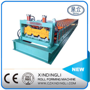 Aluminium Roof Roll Forming Step Tiles Machine pictures & photos