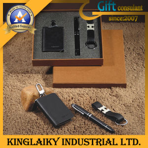 Business Gift Set Key Holder Keychain & Pen for Promotionlal (KS-01) pictures & photos