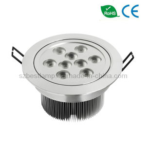 Angled 9x3w LED Ceiling Downlight pictures & photos