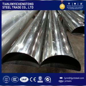 430tubo De Aco Inoxidavel Semicircle Stainless Steel Pipe pictures & photos
