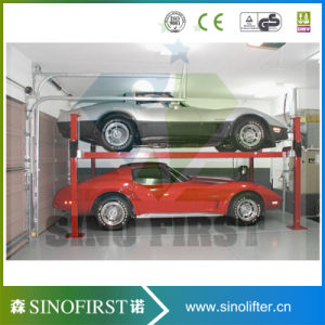 Hydraulic Heavy Duty Electric 4 Post Parking Car Lift pictures & photos
