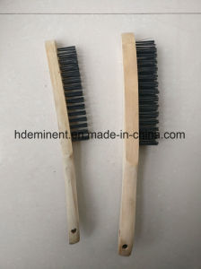 China New Style Black Steel Wire Brush pictures & photos