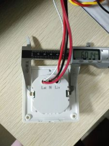 European Round Back Standard RF Card Energy Saving Switch (ESS-RFG2) pictures & photos