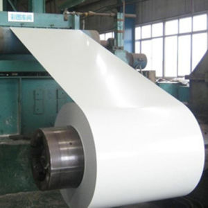 White Prepainted Galvanized Steel Coils with Good Quality