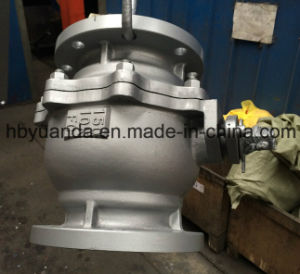 JIS/Ks Full Bore PTFE Seat 10k Cast Iron Ball Valve pictures & photos
