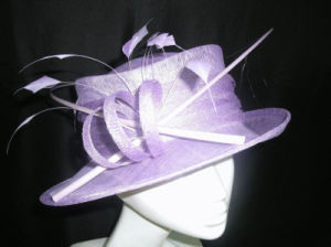 The Kingly Sinamay Hat
