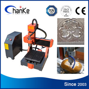 Jade Stone Brass Aluminium Desktop CNC Cutting Engraving Machine Ck3030 pictures & photos
