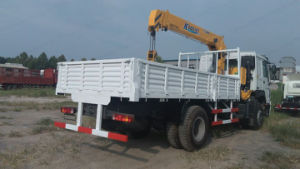 Truck with Crane, Crane Truck, Truck Mounted Crane with Power Unit pictures & photos